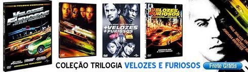 Coleção Trilogia Velozes e Furiosos - 3 DVDs